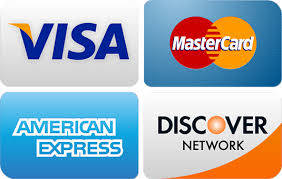 credit cards accepted card