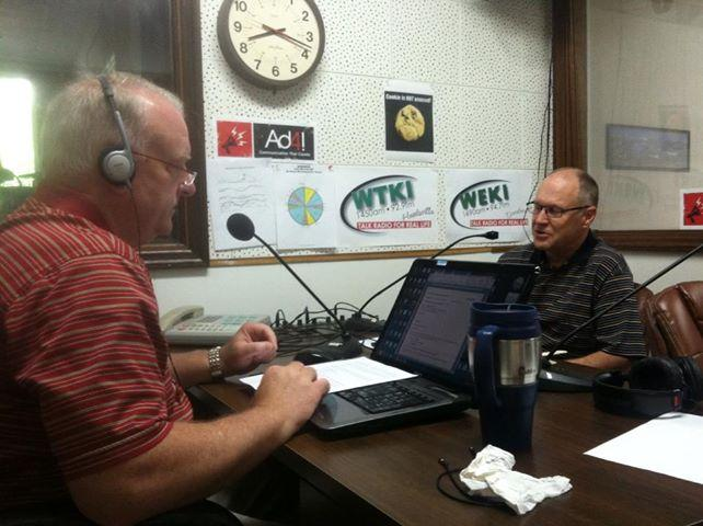 On the Radio this morning , discussing SEO with Chris Gattis of the AD4! Group